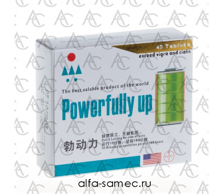 Купить Powerfully up (40 табл.)